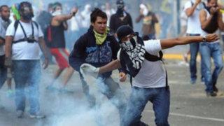 Venezuela: detienen a 130 personas en una nueva jornada de protestas