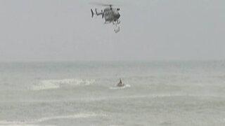 Callao: rescatan cadáver de reciclador que murió ahogado en la playa