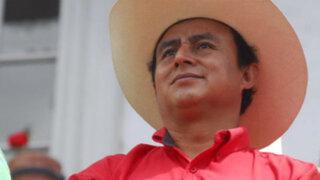 Fiscalía de la Nación evalúa solicitar la detención de Gregorio Santos
