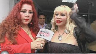 Susy Díaz y Monique Pardo se someten a riguroso tratamiento del cutis
