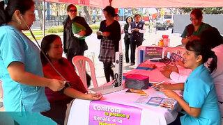 Panamericana Televisión realiza campaña gratuita contra la hipertensión