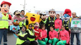 Rutas de Lima lanzó campaña que promueve el uso del puente peatonal
