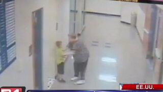 Estados Unidos: profesora humilla y golpea a niño de seis años por ir al baño