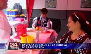 Decenas de personas asistieron a campaña de salud en Panamericana TV