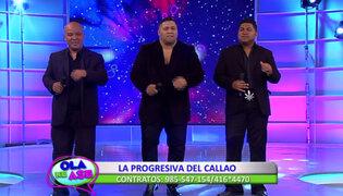 La Progresiva del Callao hizo bailar al público con su tema 'Mujer secreta'