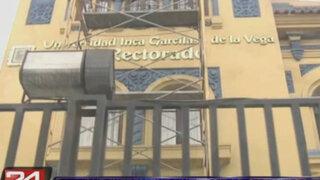 ANR interviene Universidad Inca Garcilaso de la Vega y suspende a su rector