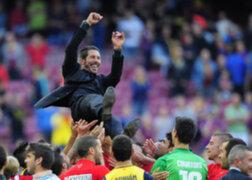 Diego Simeone sobre el título de Atlético de Madrid: Esto es grandioso