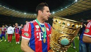 Pizarro está entre los cinco jugadores con más títulos en la historia del Bayern