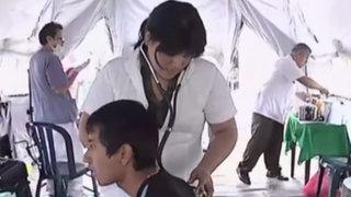 SJM: Ejército brindó atención médica a través de hospital de campaña