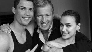 FOTOS: Cristiano Ronaldo posó desnudo para el lente del peruano Mario Testino