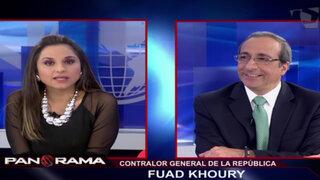 Fuad Khoury: Acusamos a 2785 funcionarios en Áncash pero solo 11 están presos
