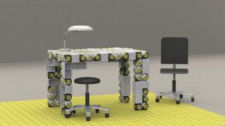Crean muebles robóticos que se mueven y cambian de forma según lo deseas