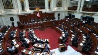 Congreso aprobó proyecto que prohibe reelección de presidentes regionales y alcaldes