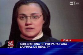 Sor Cristina a un paso de ser la triunfadora en reality italiano