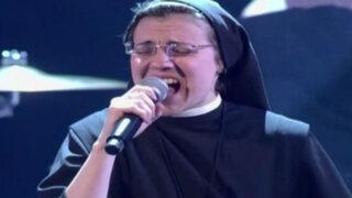 Sor Cristina se acerca más a la gloria tras cantar 'Livin' On A Prayer'
