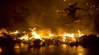 Policías de 13 estados de Brasil acatan paralización a 22 días del mundial