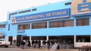 Gobierno interviene Caja Municipal de Pisco por irregularidades