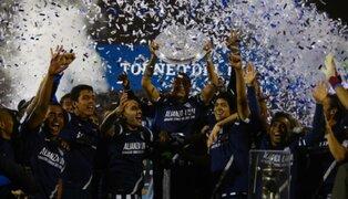 VIDEO: todo lo que no viste de la coronación de Alianza Lima en la Copa Inca
