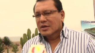 Félix Moreno: Estadísticas dicen que el Callao está más tranquilo ahora