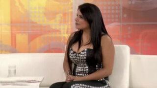 Giuliana Rengifo presentó nuevo CD promocional de cumbia romántica