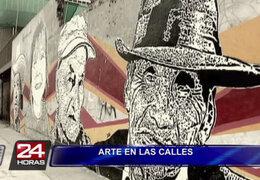 Graffiti, el arte callejero que promete cambiarle el rostro a calles limeñas