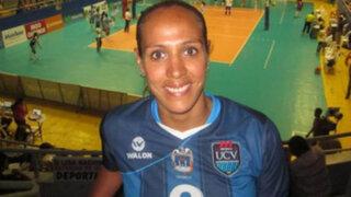 Voleibolista Milagros Moy tuvo accidente de tránsito en Miraflores