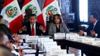 Presidente Ollanta Humala dice que no se retrocederá en la reforma de salud