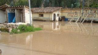Al menos 70 familias afectadas por lluvias torrenciales en Oxapampa