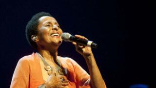 Cantante y ex ministra Susana Baca está de cumpleaños hoy