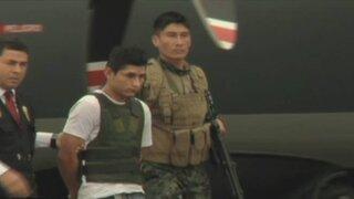 Trasladan a Lima a tres presuntos terroristas capturados en el Huallaga