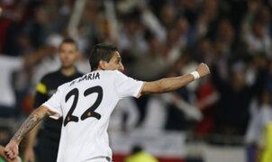 Ángel Di María: Sabíamos que si hacíamos un gol ellos se iban a caer