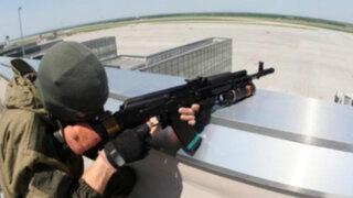 VIDEO: Ejército ucraniano bombardea aeropuerto internacional de Donetsk