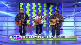 Pepe Alva y Pelo D'Ambrosio ofrecerán espectacular concierto 'Amigos del Ande'