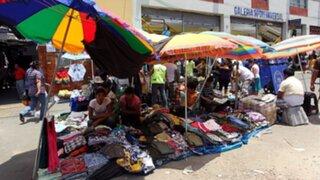 MML retirará cuatro mil ambulantes no autorizados del Centro de Lima