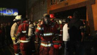 Incendio de gran magnitud se registró en tienda de artesanías de la Av. La Marina