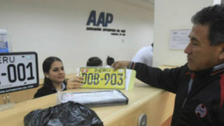 Ministerio de Transporte informó que no habrá prórroga para el cambio de placa