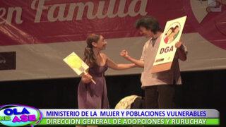 Familias adoptivas y su conmovedora obra teatral en Museo de la Nación