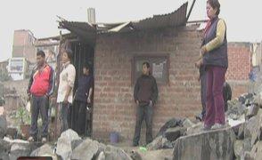 San Juan de Lurigancho: familias se enfrentan por posesión de un terreno