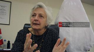 Carmen Masías: Premier Cornejo me pidió que renuncie sin dar mayor explicación