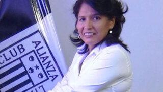 Susana Cuba es ratificada como administradora temporal de Alianza Lima