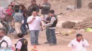 Autoridades interrogaron a esposo de empresaria asesinada en Chilca