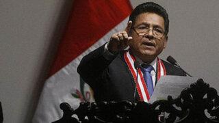 Fiscal Carlos Ramos dice que caso Gagó no está archivado definitivamente