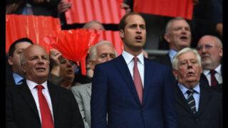 FOTOS: Príncipe William presente en el partido Perú-Inglaterra en Wembley