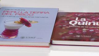 USMP presentó libros que ganaron en mundial de gastronomía en China