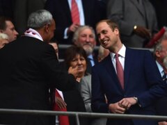 Manuel Burga y su encuentro con el príncipe William en el mítico Wembley