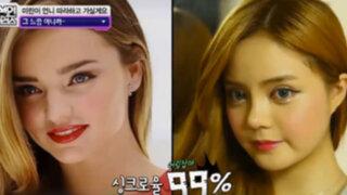 Fan coreana de Miranda Kerr se operó para ser como su ídolo ¿lo logró?