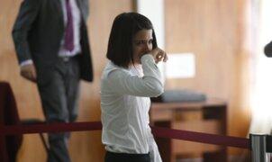 Crisis nerviosa de Eva Bracamonte obligó a suspender audiencia por Caso Fefer