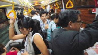 Capturan a sujeto por acosar sexualmente a mujer en bus del Metropolitano