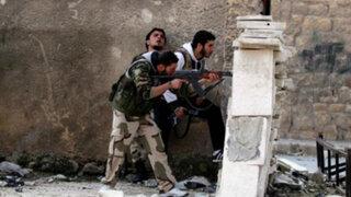 Atentado de islamistas ocasionó la muerte de 20 soldados en Siria