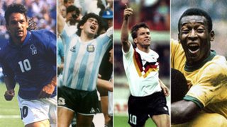 VIDEO: revive los 10 mejores goles en la historia de los mundiales, según la FIFA